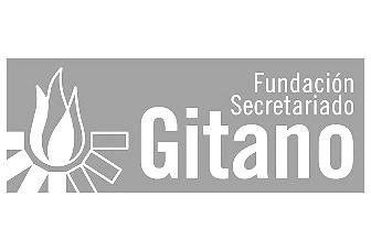 Logo secretariado gitano 2 BN
